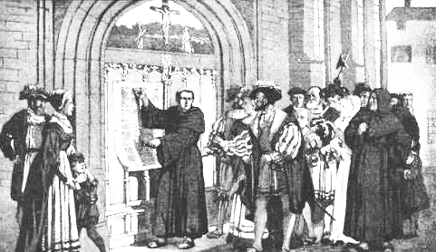 martin luthers 95 theses were a call for what