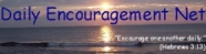 Daily Encouragement dot Net banner