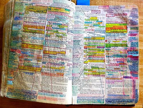 Well Marked Bible