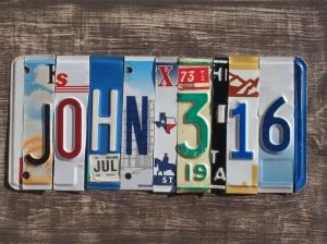 john_3.16 license plate