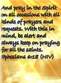 Ephesians 6 18