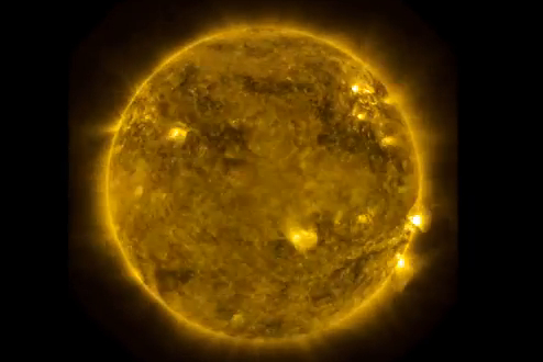 Solar Flares - Power of Creation
