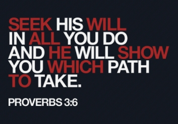 He Will Direct Your Paths