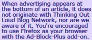 Recommend Ad Block Plus