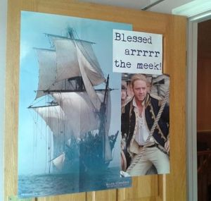 Blessed arrrr the meek - Beatitudes for Pirates