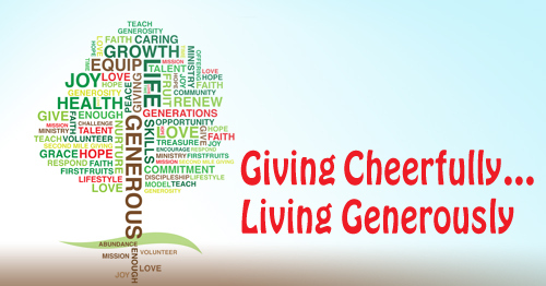 Living generously christianity 201 for Generous living