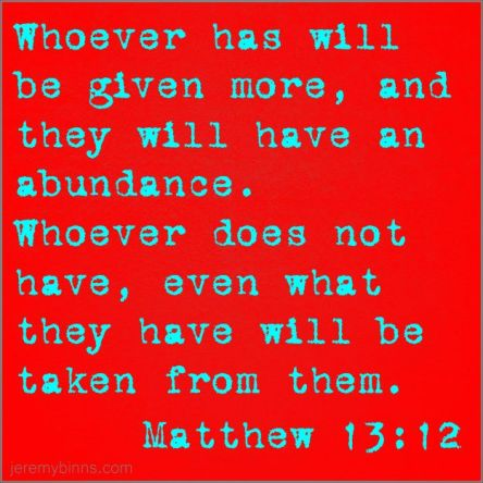 Matthew 13 12