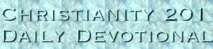 Christianity 201 - new