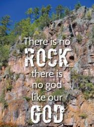 There is no rock