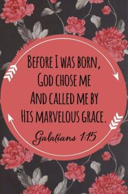 Before I Was Born God Called Me