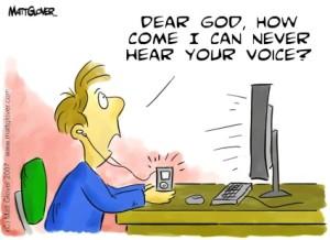 Hearing God's Voice at Matt Glover dot com