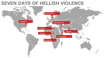 "CNN called the last 7 days ""Religion's Week from Hell."" Click the image to read the story."