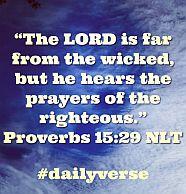 Proverbs 15 29
