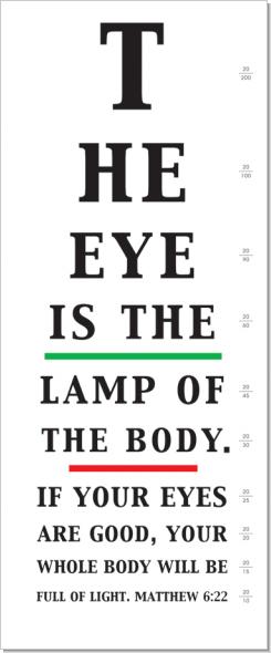 Eye is the Lamp - Michael Noyes