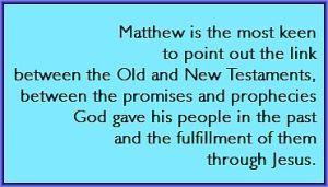 Matthew's Gospel