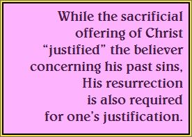 Justification-sacrifice-resurrection