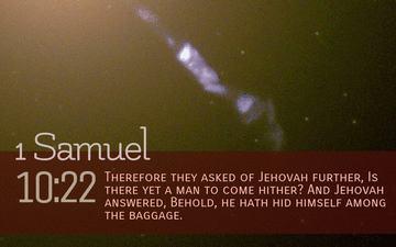 1 Samuel 10 22