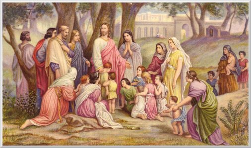Disciples rebuke Jesus
