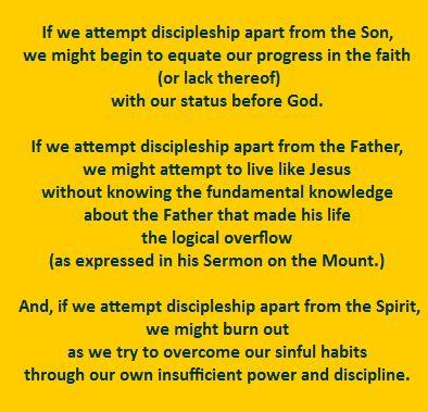 Trinitarian Discipleship