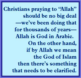 christians-praying-to-allah